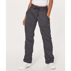 Lululemon Grey Lined Dance Studio Pants 4